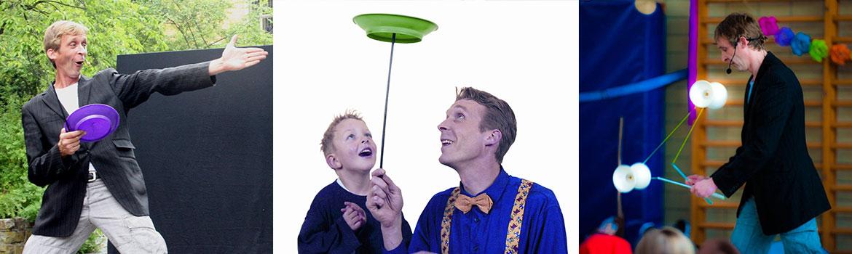 Kindershow mit Jonglage von micha aus Siegen