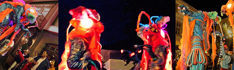 header-stelzentheater-micha-lumianer-Beleuchtete-Stelzenfiguren