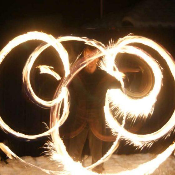 Baila fuego - die Licht- und Feuershow, Gala, Firmenfeier, Hochzeiten, Leuchtbälle, Köln